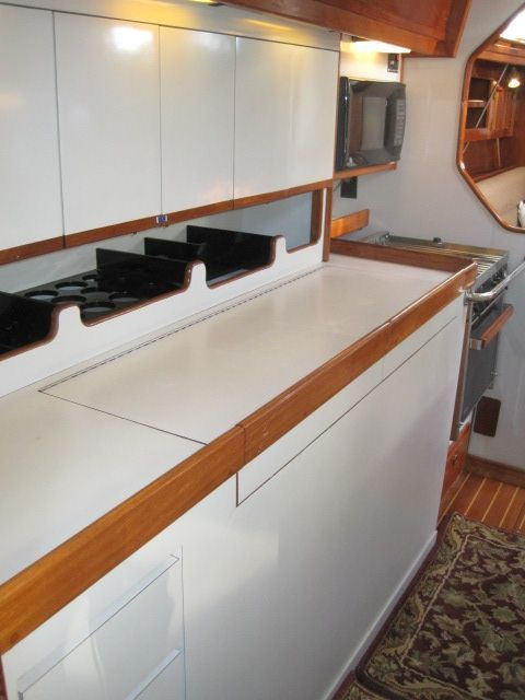 Galley looking fwd