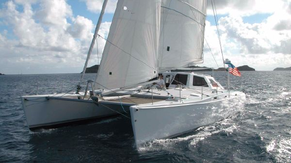 Chris White Atlantic 55 Designed for easy short handed sailing