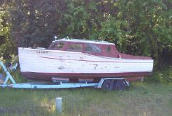 1941 Chris-Craft 26 Full Enclosed Dinette Cruiser Deluxe