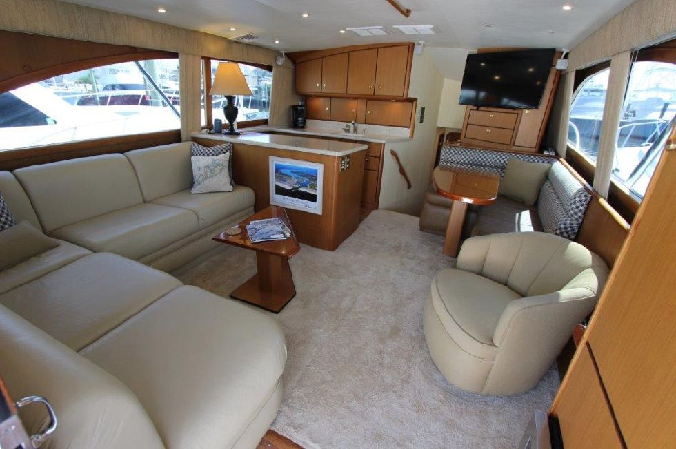 2006 Ocean Yachts 46 Super Sport - Salon 1