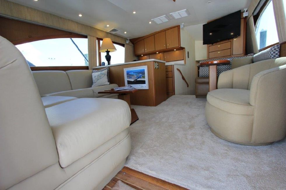 2006 Ocean Yachts 46 Super Sport - Salon 3