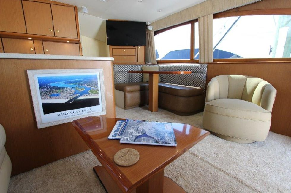 2006 Ocean Yachts 46 Super Sport - Salon 4