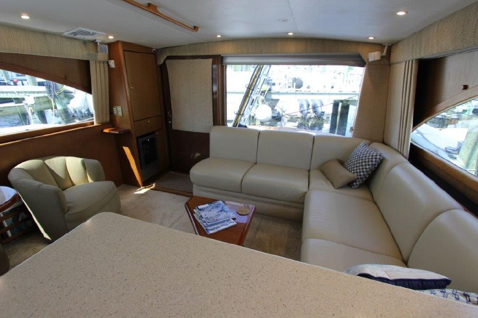 2006 Ocean Yachts 46 Super Sport - Salon 6