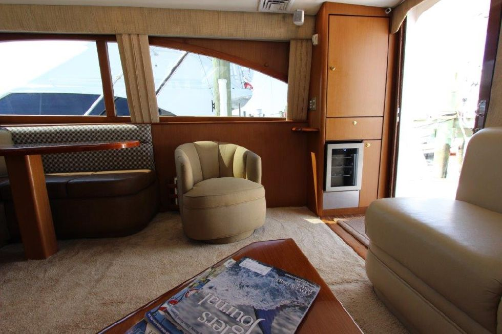 2006 Ocean Yachts 46 Super Sport - Salon 7
