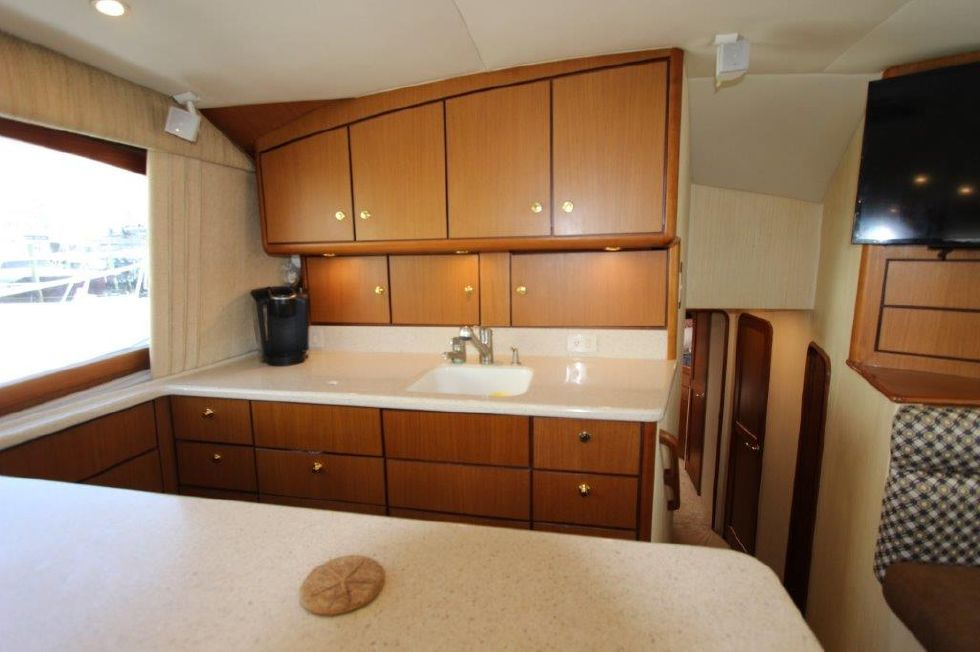 2006 Ocean Yachts 46 Super Sport - Galley 2