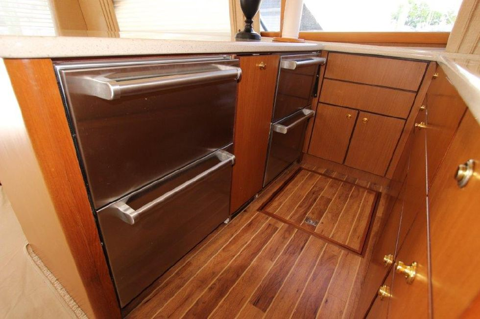 2006 Ocean Yachts 46 Super Sport - Galley 5