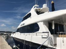 1999 Lazzara Yachts Skylounge