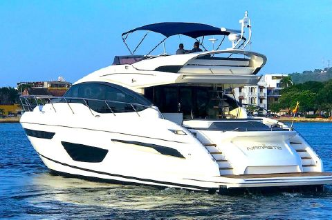 "2017 Princess S65 - 2017 Princess S65 ""NAMASTE"" FOR SALE"
