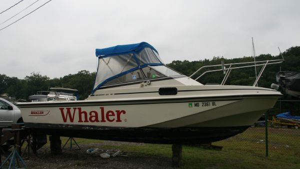 Boston Whaler Revenge Cuddy Starboard Side