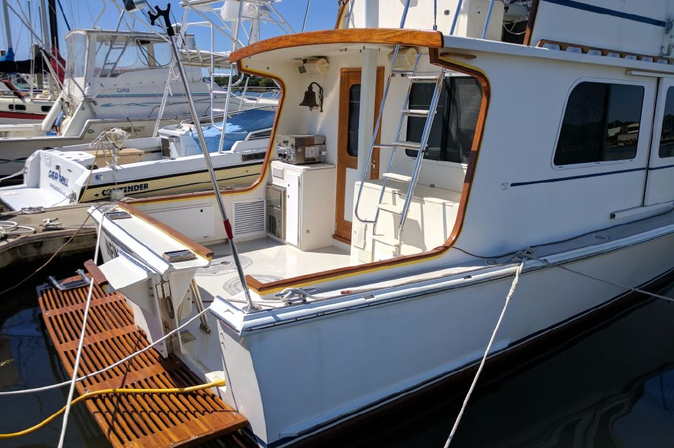 2004 Duffy 37 Flybridge Cruiser - Starboard cockpit