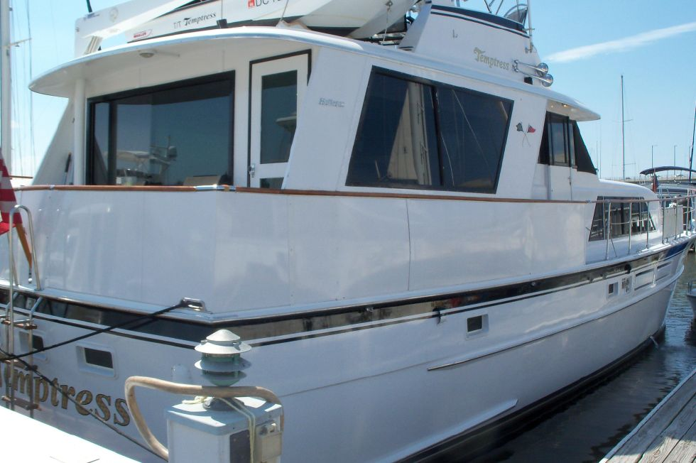 1971 Hatteras Tri-Cabin Motor Yacht 58 Boats for Sale