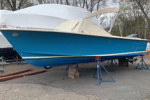 2018 Rossiter 23 Day Boat