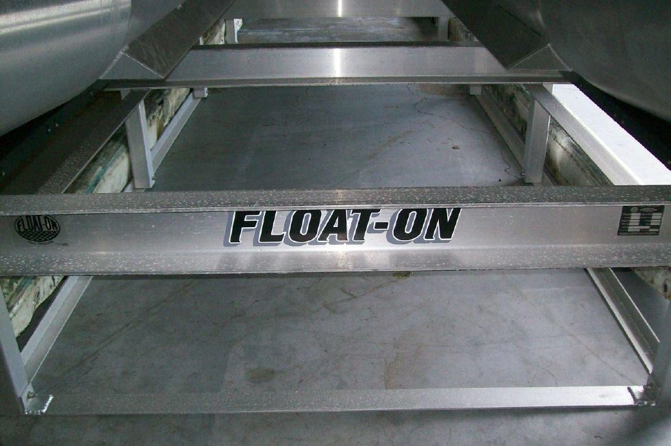 Float on Lifting Cradle can be purchased separatly for $250000 for fork lifts