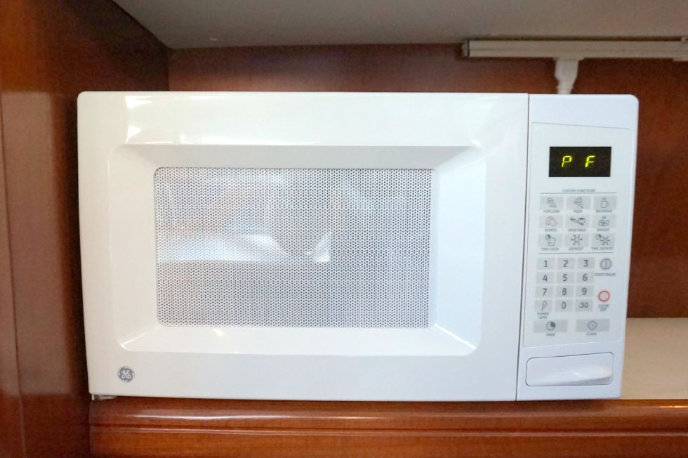 Lagoon 43 Power Cat Galley Microwave