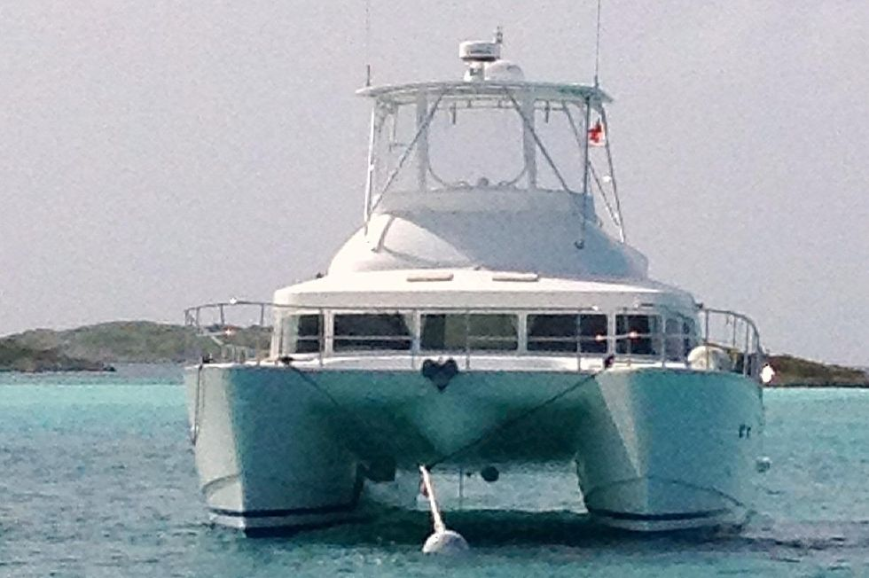 2001 Lagoon Power Catamaran - Lagoon 43 Power Cat This Could Be You in Paradise!
