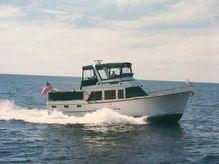 1984 Ocean Alexander 43 Flush Aft Deck