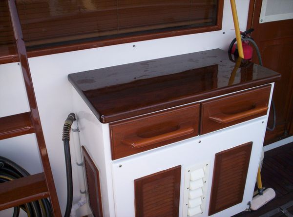 1981 C & L Raised Pilot House - Aft Deck Storage