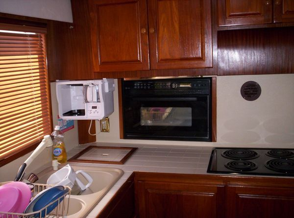 1981 C & L Raised Pilot House - Galley