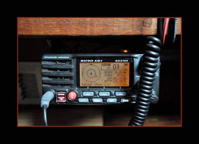 New VHF with AIS