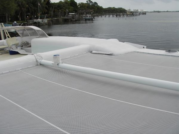 2011 Custom Catamaran - Trampoline