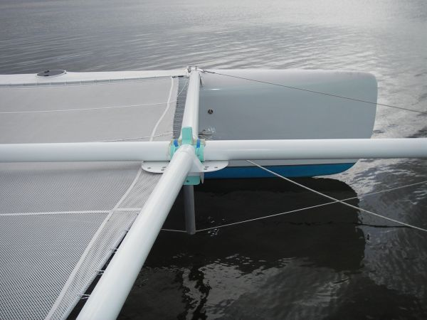 2011 Custom Catamaran - Bow Detail