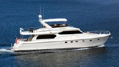 2004 Hampton 68' Pilothouse Motoryacht