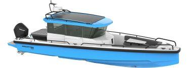 2021 Axopar Twin White 200HP w/WET BAR