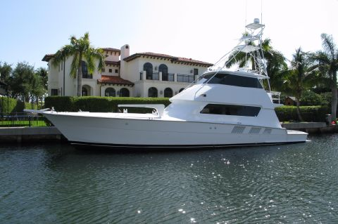 1989 Hatteras 65 Enclosed Bridge - PROFILE