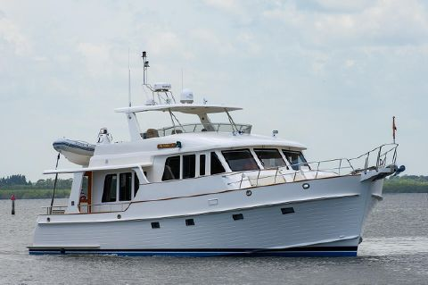 2008 Grand Banks 59 Aleutian RP - Profile, Starboard Bow