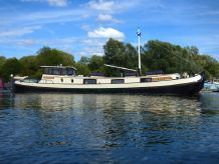 1924 Barge Dutch Motor Tjalk