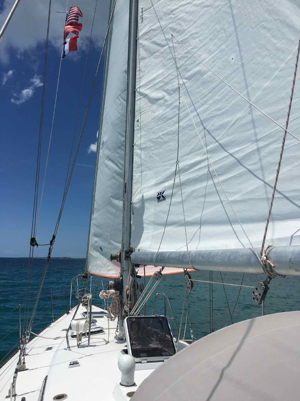 1986 Kaufman Cutter - New Main Sail April 2019