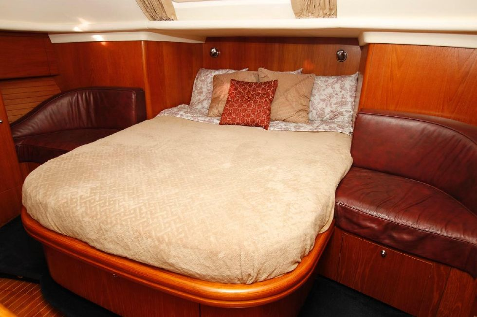Moody 46 Master Stateroom