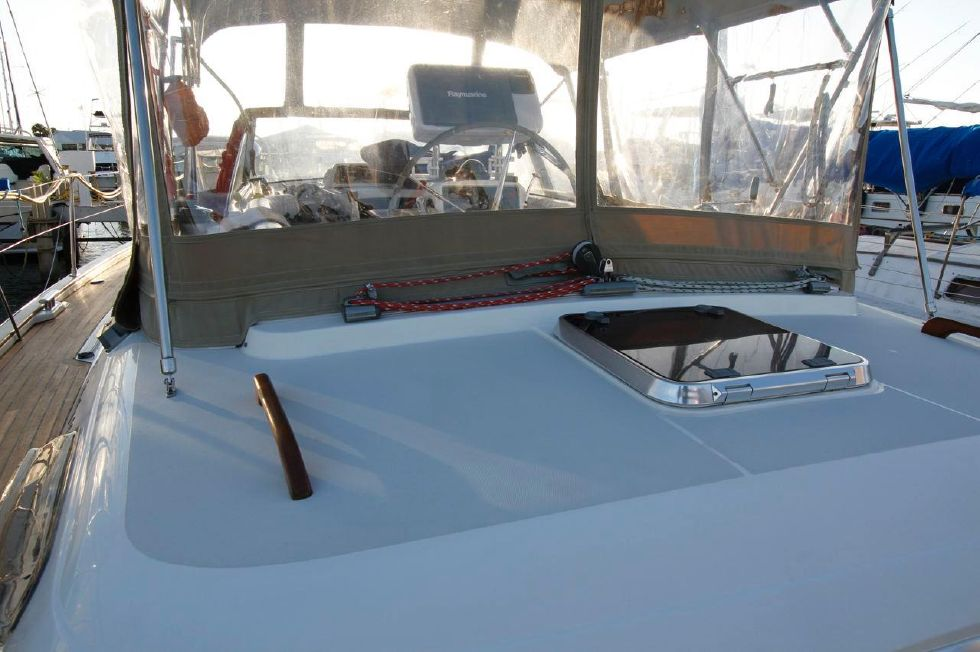 Moody 46 Aft Deck