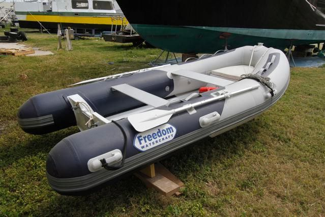 New Dinghy w/outboard