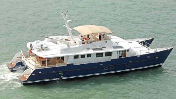 Tropic Composites YC 80 Power Catamaran YC 80 Tropic Composites Power Catamaran PELICANO