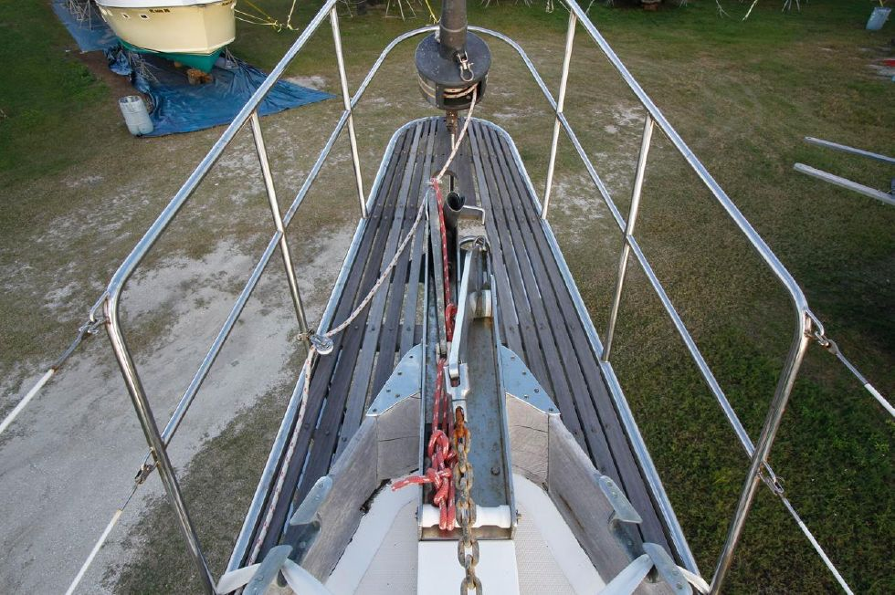 Cheoy Lee 53 Offshore Bow Sprit