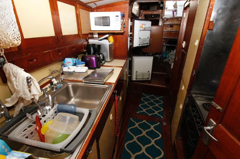 Cheoy Lee 53 Offshore Galley
