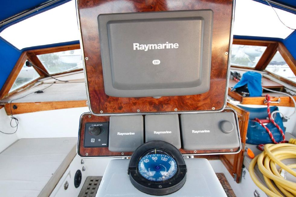 1975 Cheoy Lee Offshore 53 Ketch - Cheoy Lee 53 Offshore Newer Raymarine Electronics