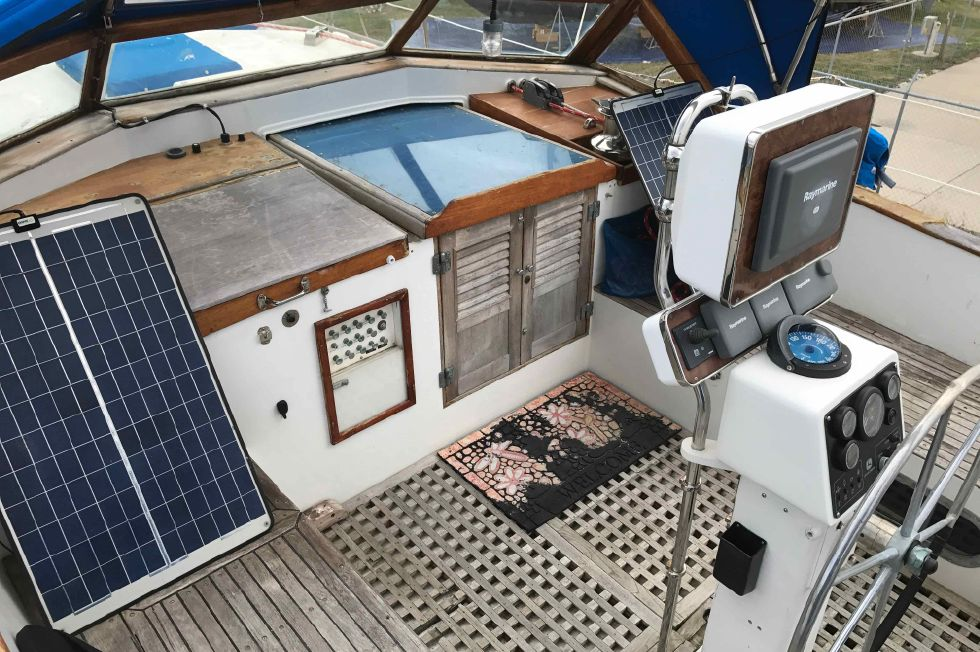 1975 Cheoy Lee Offshore 53 Ketch - Cheoy Lee 53 Offshore Ketch March 2017
