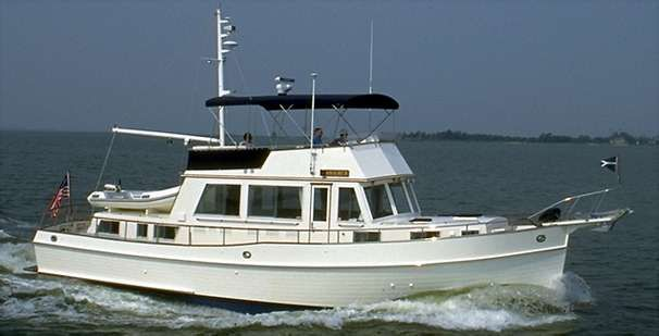 1988 Grand Banks 49 Classic - Manufacturer Provided Image