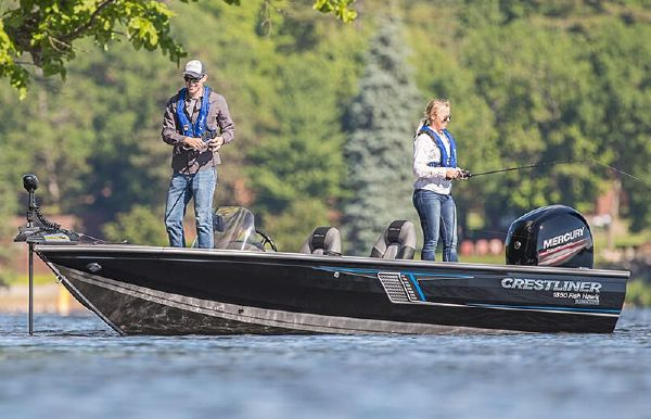2018 Crestliner 1850 Fish Hawk SC
