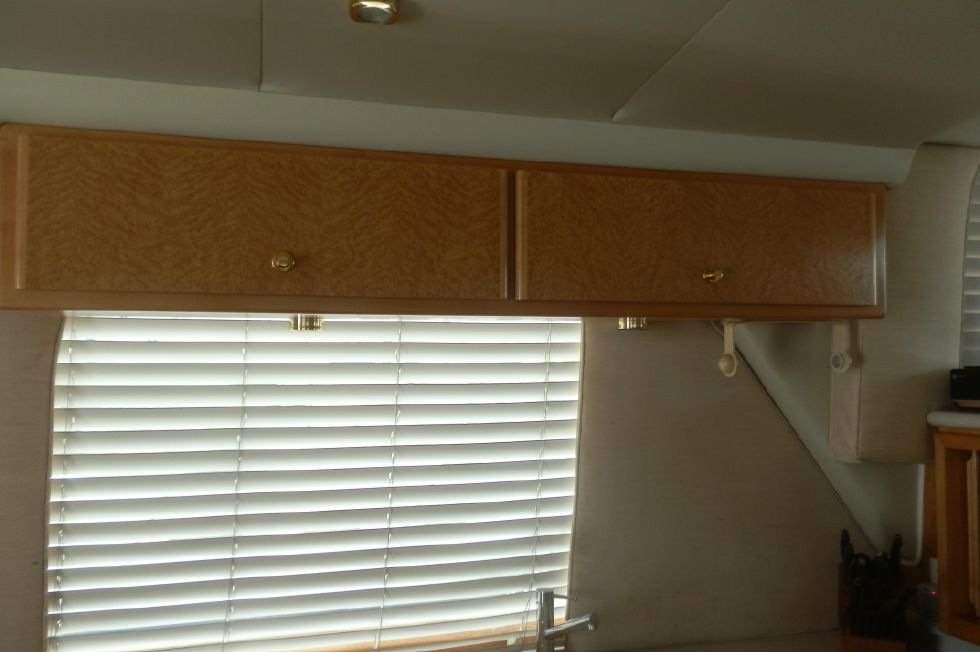 STORAGE ABOVE GALLEY SINK