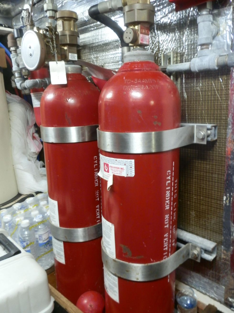 FYR FYTER CO2 FIRE SUPPRESSION SYSTEM