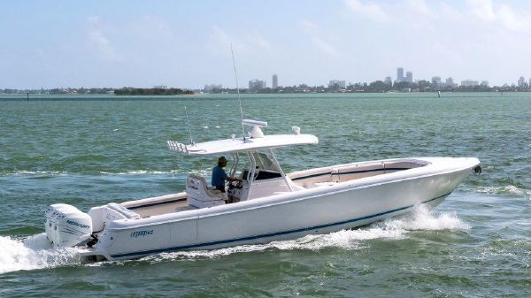 Intrepid 375 Center Console Off to your next adventure!