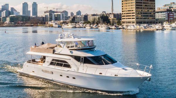 Queenship 68 Extended Aft Deck Pilothouse GEMELLI