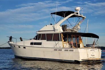 1988 Bayliner 3870 Cockpit Motor Yacht