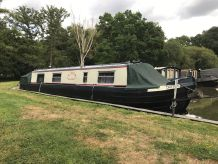 1985 Narrowboat 40' Cruiser Stern