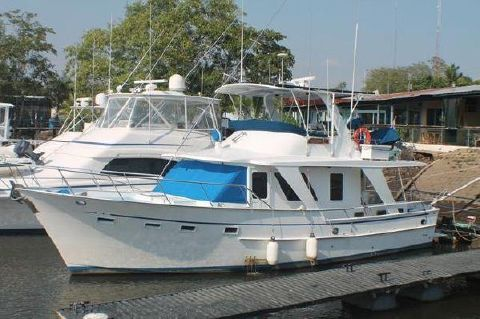 1983 DeFever Tri Cabin Trawler New Motors