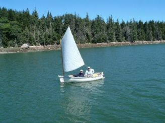 2010 Western Way 10' Sailing Dinghy