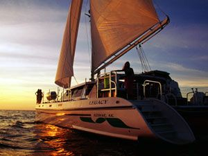 Woodwind Kurt Hughes Custom Catamaran  Photo 1